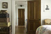 Drzwi wewnętrzne i zewnętrzne w starym stylu