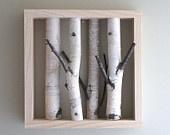 Silver birch art