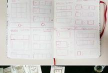 UI UX sketches