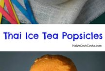 Thai tea / Thai tea ice