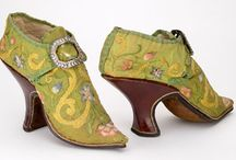 Historial Shoes / Shoes.  Who doesn't love shoes?  Celebrating shoes through the ages.