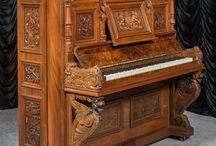 Vintage Upright Pianos