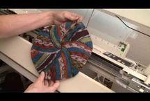 Trabalhos em maquina de trico