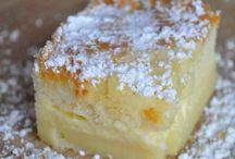 Gâteau magique pommes vanille