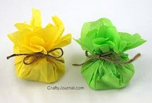 Craft & DIY: Parties and Shows / Crafts & DIY party items and/or to use with craft shows (see also Theme Parties)