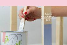 Taburete Ikea Chalk Paint
