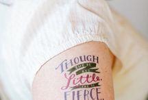 temporary tattoos / by Miriam Schoeman
