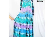 Umbrella Dress Tiedye Busui Friendly