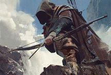 archers, rangers
