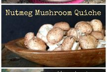 Mighty Mushroom Menu