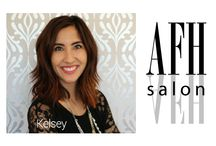 Stylist - Kelsey Knutson / Kelsey Knutson is a stylist. She loves to help people unleash their inner beauty, which is why she chose this industry.