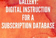 Digital Instruction for a Database / For Search and the Information Landscape RU530