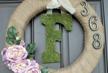Wreaths & more / by Kimberly Clay