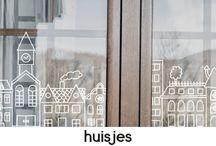 Tekenen op het raam