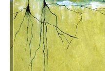 Green Abstract Art / 0