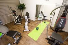 Homes with Gyms / Home gyms, workout from home.