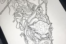 Asian Tattoo inspiration