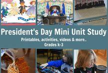 President's Day Unit Study / President's Day Unit Study