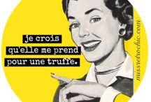 Humour rétro / Publicités des années 50, détournements, vintage humour funny quotes, 50s housewives