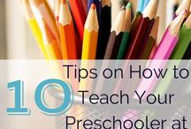 Preschool at Home / Activities and education for ages 3-5, homeschool preschool.  / by Antoinette Scully