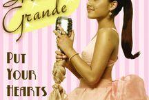 <3 Discos: Ariana Grande <3 / Este tablero lo he hecho para tener todos los discos de Ariana Grande