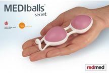 MEDIballs / Palline per l'esercizio del pavimento pelvico, senza fili.