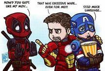 superhero funnies