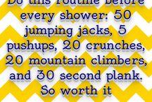 Workout Plans/Motivation
