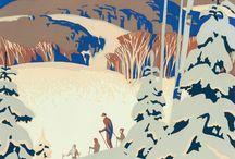 A.J. Casson Commercial Illustrations