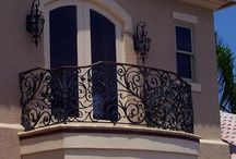 Forged balcony
