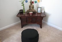 Buddhist altar at home