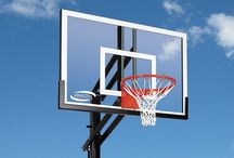 In-Ground Basketball Goals from Leisure Time Products are perfect for growing families! / The high quality goals are easily adjusted and include Professional Installation.  Should you move, your Leisure Time basketball goal system can move with you.  / by Backyard Discovery