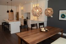 Laprairie's Kitchen: A stunning white kitchen with granite top...true perfection! / Stunning white kitchen with an earthy glow...love it! Your Style, Our Craftsmanship, Shared Pride! La Cuisine Kitchens Sudbury!! Northern Pride!