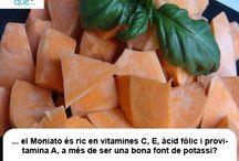 Moniato / Boniato / Aquí trobaràs curiositats sobre el moniato  / Aquí encontrarás curiosidades sobre el boniato