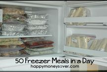 Freezer meals / by Kathy Jolie