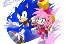 Sonic and Amy (Sonamy)