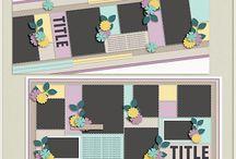 {Picture Perfect 89-92} Digital Scrapbook Templates by Aprilisa Designs