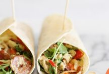 WRAPS & ROLLS / Wraps & Rolls - This tasty yummy wraps and rolls will be the easiest on the go grub. Whether you are looking for easy lunch box recipe or just something to kill those mid meal craving, we have the best choices.