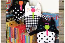kočky dekorace