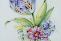 Flowers (painted)