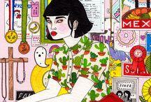Ilustração para página de sobrancelha
