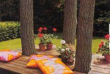 Have og terrasse