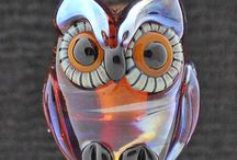 Homage to Hootie / Owls in all their splendor ...photography, pottery, handmade, recycled, hats, home decor