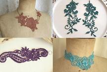 bijoux aux crochet