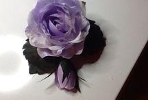 шелковая флористика / цветы из шелка своими руками.