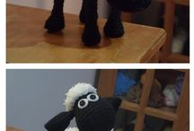 My work / I make amigurumi's and fimo  as a hobby :D