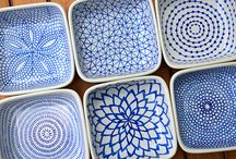 ceramic painting / ideas and inspiration