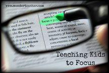 Focus Strategies / by Shelley Breivogel