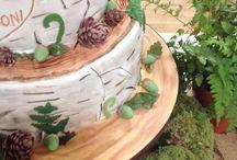 Woodland theme wedding or event