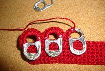 Crochet con anillas